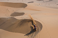 6th January 2021; Wadi Al Dawasir to Riyadh, Saudia Arabia; Dakar 2021 Rally, stage 4;  #04 Cornejo Florimo Jose Ignacio (chl), Honda, Monster Energy Honda Team 2021, Motul, Moto, Bike, action during the 4th stage of the Dakar 2021 between Wadi Al Dawasir and Riyadh, in Saudi Arabia on January 6, 2021