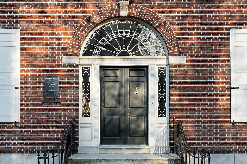 Home of Dr Philip Syng Physick, father of American surgery, Philadelphia, Pennsylvania