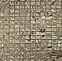 historical aerial photograph San Diego, California, 1972