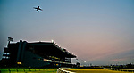 TORONTO, ON - SEPTEMBER 16: Scenes from the track as horses exercise on Ricoh Woodbine Mile Day at Woodbine Racetrack on September 16, 2017 in Toronto, Ontario. (Photo by Scott Serio/Eclipse Sportswire/Getty Images)