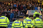 Dundee v St Johnstone….31.12.16     Dens Park    SPFL<br />Police keep an eye on the saints fans<br />Picture by Graeme Hart.<br />Copyright Perthshire Picture Agency<br />Tel: 01738 623350  Mobile: 07990 594431