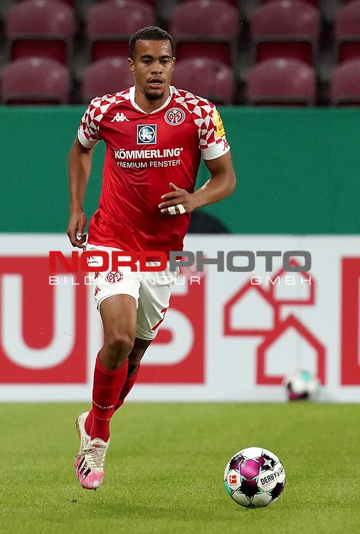 11.09.2020, Opel Arena, Mainz, GER, DFB-Pokal, 1. Runde TSV Havelse vs 1. FSV Mainz 05<br /> , im Bild<br />Robin Quaison (FSV Mainz 05)<br /> <br /> Foto © nordphoto / Bratic