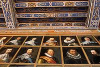 Europe/France/Centre/41/Loir-et-Cher/Château de Beauregard: Galerie de portraits historiques