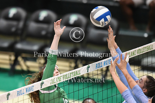 Tulane Volleyball holds their Olive & Blue scrimmage in preparation for the 2018 season.