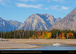 Colter Bay, Jackson Lake, Grand Tetons, Bivouac Peak, Grand Teton National Park, Wyoming