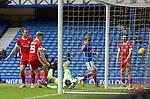 15.05.2021 Rangers v Aberdeen: Kemar Roofe beats Joe Lewis for goal no 2