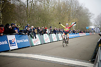Laurens Sweeck (BEL/Corendon-Kwadro) wins the U23 race<br /> <br /> Flandriencross Hamme 2014