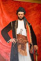 Afrique/Afrique de l'Est/Tanzanie/Zanzibar/Ile Unguja/Stone Town: le Palais du Peuple, c'était le Palais des Sultans - Portait de Seyyid Majid b. Said Sultan de Zanzibar 1856-1870 peint par A Guillou