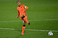 Virgil van Dijk of Netherlands in action during the Uefa Nation A League Group 1 football match between Italy and Netherlands at Atleti azzurri d Italia Stadium in Bergamo (Italy), October, 14, 2020. Photo Andrea Staccioli / Insidefoto