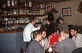 Budapest, Hungary.Young people enjoying themselves in a bar.
