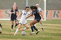 SAN ANTONIO, TX - FEBRUARY 28, 2021: The University of Texas at San Antonio Roadrunners fall to the Rice University Owls 3-2 at the Park West Athletics Complex (Photo by Jeff Huehn).