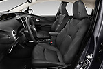 Front seat view of 2019 Toyota Priush Lounge 4 Door Hatchback Front Seat  car photos