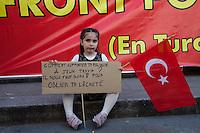 Parigi, manifestazione contro la repressione in Turchia