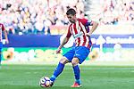 "Atletico de Madrid's player Gabriel ""Gabi"" Fernández during a match of La Liga Santander at Vicente Calderon Stadium in Madrid. September 25, Spain. 2016. (ALTERPHOTOS/BorjaB.Hojas)"