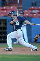 Pittsburgh Panthers Philip Konieczny #20 during a game vs. the Central Michigan Chippewas at Chain of Lakes Park in Winter Haven, Florida;  March 11, 2011.  Pittsburgh defeated Central Michigan 19-2.  Photo By Mike Janes/Four Seam Images
