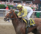 Stone Farm's Sumo wins the fourth race at Saratoga for trainer Graham Motion and jockey Jeremy Rose