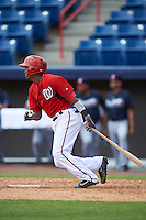 Washington Nationals Erick Abreu (10) during an Instructional League game against the Atlanta Braves on September 30, 2016 at Space Coast Stadium in Melbourne, Florida.  (Mike Janes/Four Seam Images)