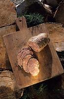 Europe/France/Languedoc-Roussillon/66/Pyrénées-Orientales/Env de Palau-de-Cerdagne: Charcuterie de Cerdagne - Pa de Fetge