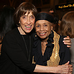 "Susan Birkenhead and Micki Grant attends the Opening Night performance afterparty for ENCORES! Off-Center production of ""Working - A Musical""  at New York City Center on June 26, 2019 in New York City."