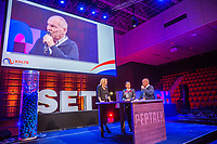 Rotterdam, Netherlands, December 16,  2017, Topsportcentrum,  KNLTB Jaarcongres,  table discussion with associations<br /> Photo: Tennisimages/Henk Koster