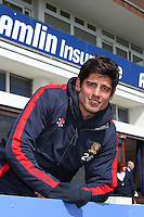 Alastair Cook of England and Essex poses for a portrait in front of the pavilion - Essex County Cricket Club Press Day at the Essex County Ground, Chelmsford, Essex - 02/04/13 - MANDATORY CREDIT: Gavin Ellis/TGSPHOTO - Self billing applies where appropriate - 0845 094 6026 - contact@tgsphoto.co.uk - NO UNPAID USE.