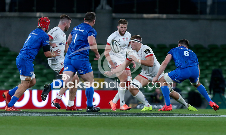 Saturday 12th September 2020 | PRO14 Final - Leinster vs Ulster<br /> <br /> Matty Rea during the Guinness PRO14 Final between Leinster ands Ulster at the Aviva Stadium, Lansdowne Road, Dublin, Ireland. Photo by John Dickson / Dicksondigital