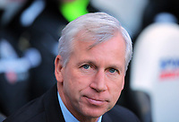 Saturday 17 November 2012<br /> Pictured: Alan Pardew manager of Newcastle<br /> Re: Barclay's Premier League, Newcastle United v Swansea City FC at St James' Park, Newcastle Upon Tyne, UK.