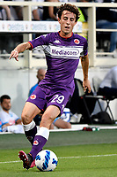 Alvaro Odriozola of ACF Fiorentina in action during the Serie A 2021/2022 football match between ACF Fiorentina and SSC Napoli at Artemio Franchi stadium in Florence (Italy), October 3rd, 2021. Photo Andrea Staccioli / Insidefoto