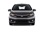 Car photography straight front view of a 2018 Honda Jazz Exclusive 5 Door Hatchback