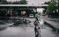 Rigoberto Uran (COL/Cannondale-Drapac after the race<br /> <br /> 104th Tour de France 2017<br /> Stage 1 (ITT) - Düsseldorf › Düsseldorf (14km)