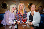 Enjoying the evening in the Mall Tavern on Saturday, l to r: Caroline O'Sullivan, Sharon Sheehan and Brenda O'Riordan.