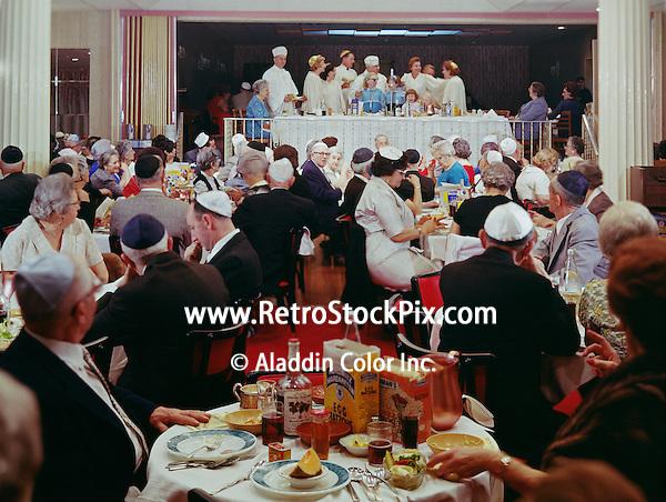 Metropolitan Hotel, Asbury Park, NJ. Jewish Ceremony in a banquet room