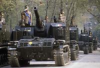 - Italian Army, Horse Artillery regiment, self-propelled guns M 52....- Esercito Italiano, reggimento Artiglieria a Cavallo, cannoni semoventi M 52