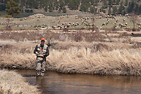 Published in The Fly Fish Journal - March 12<br /> <br /> Fishing for Brown Trout in the Big Thompson Moraine Park Section, Rocky Mountain National Park, Colorado