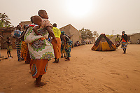 Africa,Benin,voodoo Zangbeto in the Dekon village - Voodoo Zangbeto nel villaggio Dekon, Benin