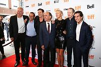 GUEST, PRODUCER LAURENT ZEITOUN, JASON ISAACS, DIRECTOR ARMANDO IANNUCCI, ANDREA RISEBOROUGH, STEVE BUSCEMI AND PRODUCER YANN ZENOU - RED CARPET OF THE FILM 'THE DEATH OF STALIN' - 42ND TORONTO INTERNATIONAL FILM FESTIVAL 2017 . TORONTO, CANADA, 09/09/2017. # FESTIVAL DU FILM DE TORONTO - RED CARPET 'THE DEATH OF STALIN'