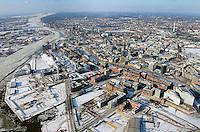 Hamburg Hafencity Uebersicht: EUROPA, DEUTSCHLAND, HAMBURG, (EUROPE, GERMANY), 04.02.2012 Hamburgs Hafencity in der Uebersicht