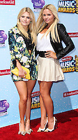 LOS ANGELES, CA, USA - APRIL 26: Witney Carson, Alli Simpson at the 2014 Radio Disney Music Awards held at Nokia Theatre L.A. Live on April 26, 2014 in Los Angeles, California, United States. (Photo by Xavier Collin/Celebrity Monitor)