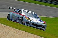 17-19  July, 2009, Birmingham, Alabama USA.#40 Dempsey Racing RX-8 of Patrick Dempsey & Joe Foster.©2009 F.Peirce Williams, USA.