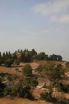 Israel, Jezreel Valley, a view of Tel Shimron