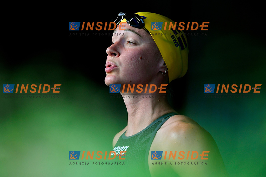 Sarah Sjostrom of Sweden prepares to compete in the women 50m butterfly during the 58th Sette Colli Trophy International Swimming Championships at Foro Italico in Rome, June 25th, 2021. Sarah Sjostrom placed first.<br /> Photo Andrea Staccioli/Insidefoto/Deepbluemedia