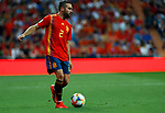 Daniel Carvajal during the Qualifiers - Group B to Euro 2020 football match between Spain and Sweden on 10th June, 2019 in Madrid, Spain. (ALTERPHOTOS/Manu Reino)