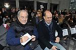 GOFFREDO BETTINI CON NICOLA ZINGARETTI  SFILATA GATTINONI  ROMA 2014