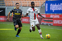 inter-genoa - milano 28 febbraio 2021 - 24° giornata Campionato Serie A - nella foto: zapata e martinez