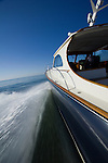 Hinckley Talaria 44 motor yacht with twin jet drive diesel engines