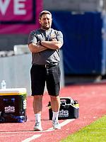 17th July 2021; Tynecastle Park, Edinburgh, Scotland;Pre Season Friendly Football, Heart of Midlothian versus Sunderland; Lee Johnson Sunderland FC manager