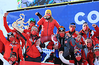 18th February 2021; Cortina d'Ampezzo, Italy; FIS Alpine World Ski Championships 2021 Cortina Women's Giant Slalom; Katharina Liensberger (AUT)