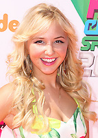 WESTWOOD, LOS ANGELES, CA, USA - JULY 17: Audrey Whitby at the Nickelodeon Kids' Choice Sports Awards 2014 held at UCLA's Pauley Pavilion on July 17, 2014 in Westwood, Los Angeles, California, United States. (Photo by Xavier Collin/Celebrity Monitor)