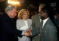 July 1994 File Photo -<br /> <br /> Parti Quebecois  Leader Jacques Parizeau <br /> <br /> Photo by Pierre Roussel / Images Distribution