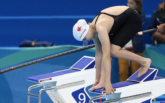 Sabrina Duchesne, Rio 2016 - Para Swimming // Paranatation.<br /> Sabrina Duchesne competes in the 50m free heats // Sabrina Duchesne participe aux épreuves libres de 50 m. 16/09/2016.